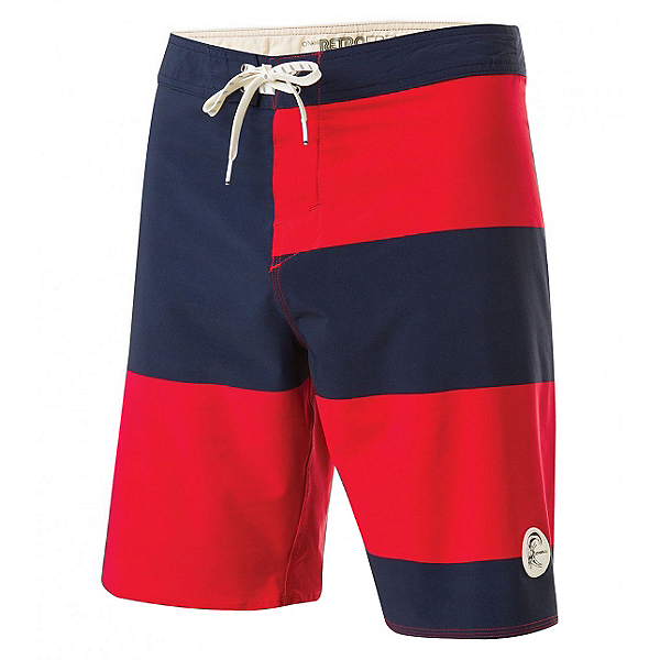O'Neill Retrofreak Basis Mens Board Shorts, Cardinal Red, 600