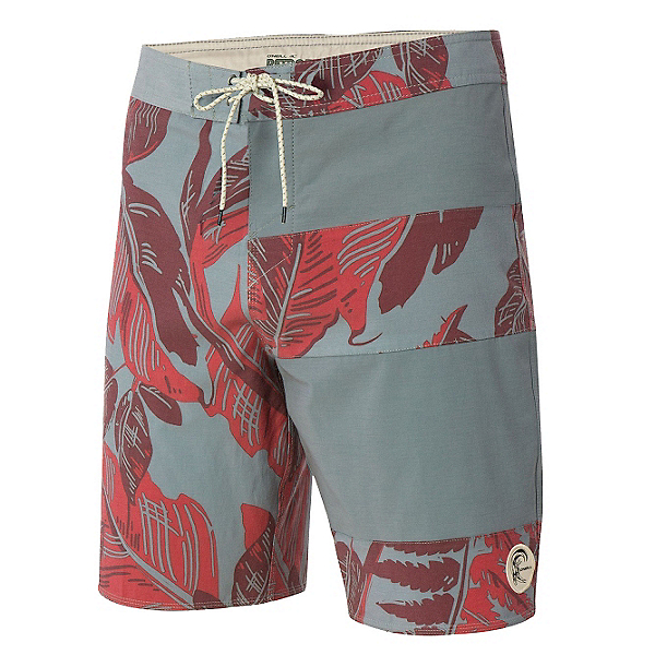O'Neill Retrofreak Double Up Mens Board Shorts, Steel, 600