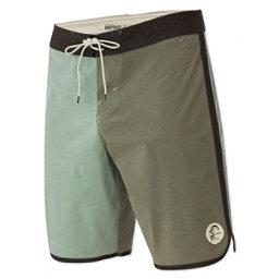 O'Neill Retrofreak Scallop Mens Board Shorts, Army Green, 256