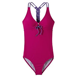 Prana Inez One Piece Swimsuit, Rich Fuchsia, 256