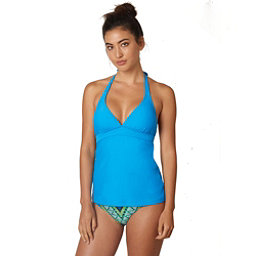 Prana Lahari Tankini Bathing Suit Top, Vivid Blue, 256