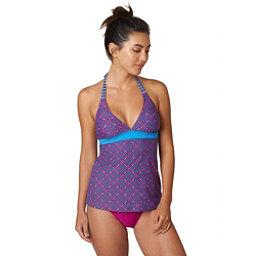 Prana Lahari Tankini Bathing Suit Top, Rich Fuchsia Sundial, 256