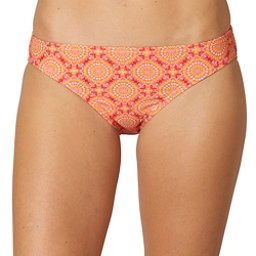 Prana Lani Bathing Suit Bottoms, Neon Orange Jasmine, 256