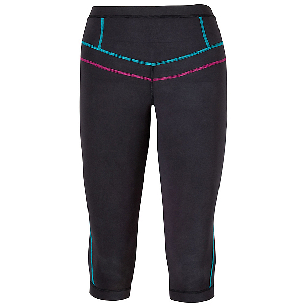 Prana Ara Swim Tight Wetsuit Bottom 2017, Black, 600