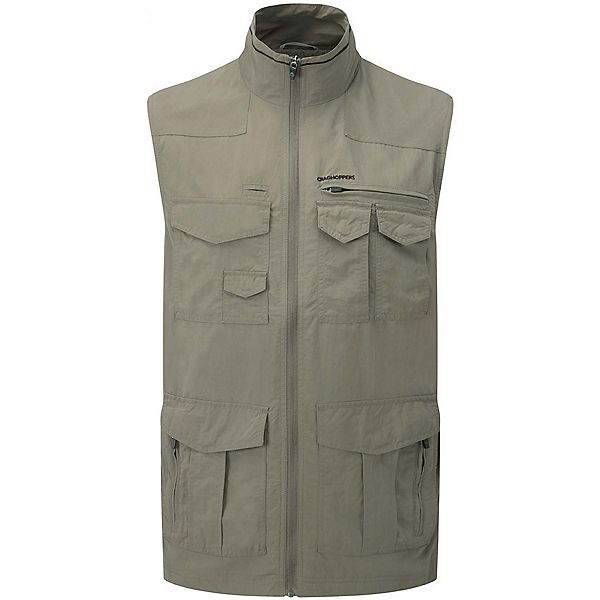 Craghoppers NAT GEO NosiLife Sherman Gilet Vest, Pebble, 600