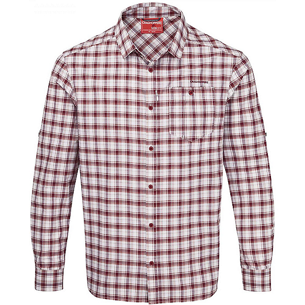 Craghoppers NosiLife Tristan Long Sleeved Mens Shirt, , 600