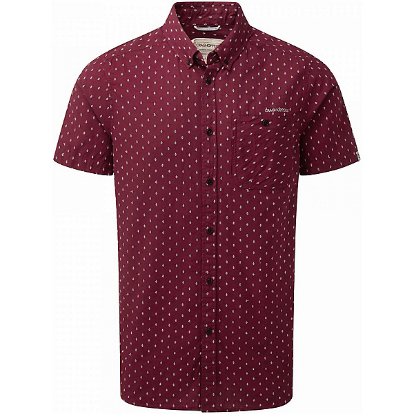 Craghoppers Edmond Short Sleeved Mens Shirt, , 600