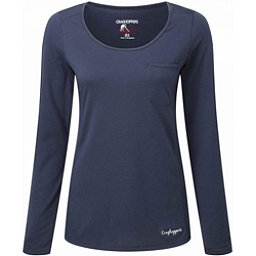 Craghoppers NosiLife Long Sleeved Tee Womens Shirt, Soft Navy, 256