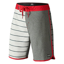 Oakley The Cave Mens Board Shorts, Red Line, 256