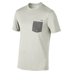 Oakley Voyage Cool Out SS Mens Rash Guard, Light Grey, 256