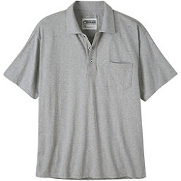 Mountain Khakis Patio Polo Mens Shirt, Heather Grey, 256