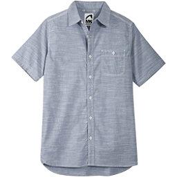 Mountain Khakis Mountain Chambray Mens Shirt, Bahama Blue, 256