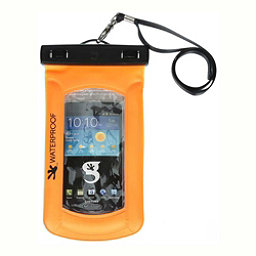 Geckobrands Waterproof Submerge Case Dry Bag 2017, Bright Orange, 256