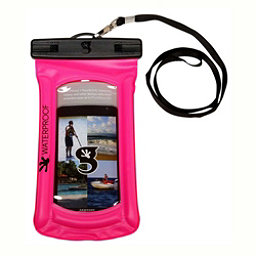 Geckobrands Waterproof Submerge Case Dry Bag 2017, Bright Pink, 256