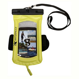 Geckobrands Waterproof Submerge Audio Case 2018, Bright Green, 256