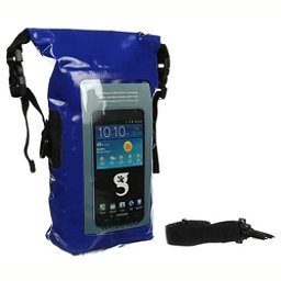 Geckobrands Waterproof Phone Tote Dry Bag 2017, Royal Blue, 256
