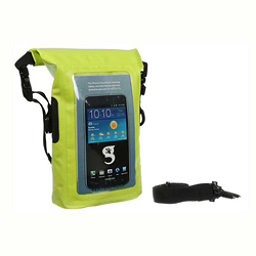 Geckobrands Waterproof Phone Tote Dry Bag 2017, Bright Green, 256