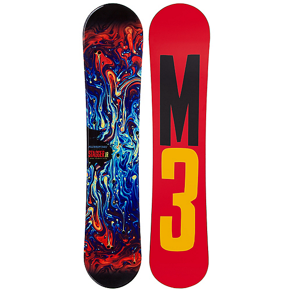 Millenium 3 Stagger 4 Junior Boys Snowboard, , 600