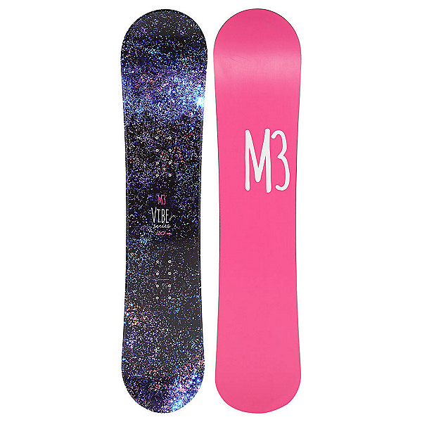 Millenium 3 Vibe Junior Girls Snowboard, , 600