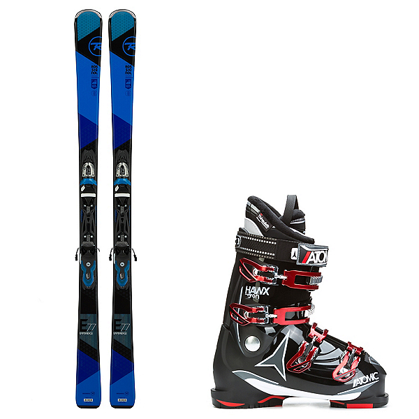 Rossignol Experience 77 and Atomic Hawx 2.0 90 Ski Package, , 600