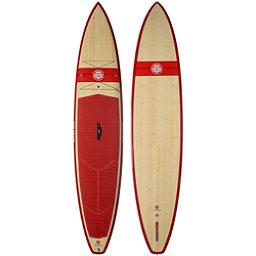Riviera Paddlesurf Ron House 12'6 Coastal Cruiser Woody Stand Up Paddleboard, Red, 256