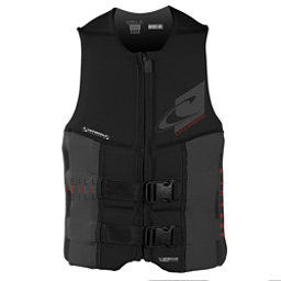 O'Neill Assault LS USCG Adult Life Vest 2017, Black-Black, 256