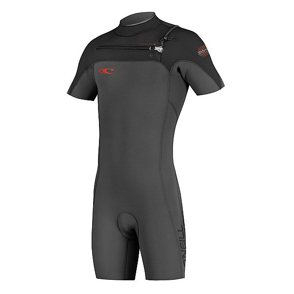 O'Neill HyperFreak Full Zip Short Sleeve Shorty Wetsuit 2016, , 600