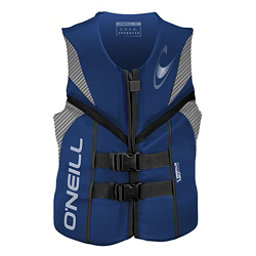 O'Neill Reactor USCG Adult Life Vest 2017, Pacific-Lunar-Black, 256