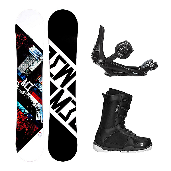 Millenium 3 Discord ST-1 Complete Snowboard Package, , 600