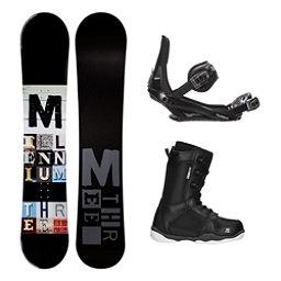 Millenium 3 Discord Black ST-1 Complete Snowboard Package, , 256
