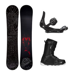 Millenium 3 Convoy ST-1 Complete Snowboard Package, , 256