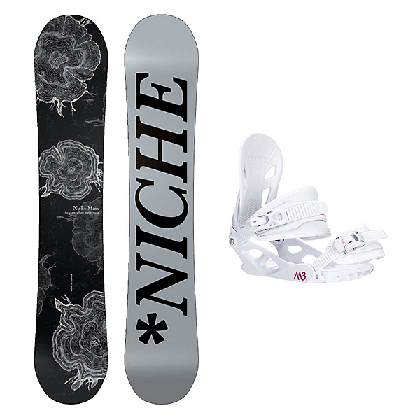 Niche Minx Solstice 4 Womens Snowboard and Binding Package, , 600