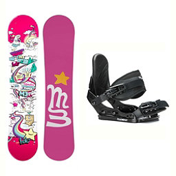 Millenium 3 Halo 3 Solstice Girls Snowboard and Binding Package, , 256