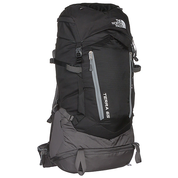 The North Face Terra 65 Backpack (Previous Season), TNF Black-Asphalt Grey, 600