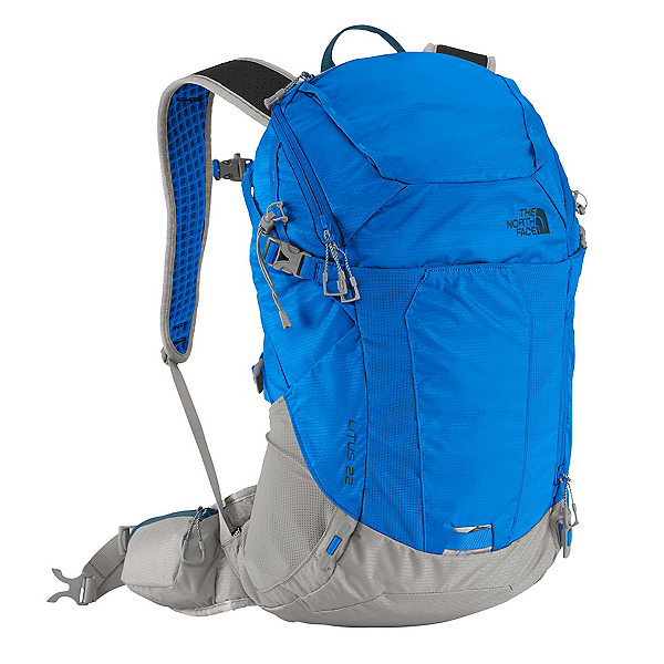 The North Face Litus 22 Daypack (Previous Season), Bomber Blue-Monterey Blue, 600