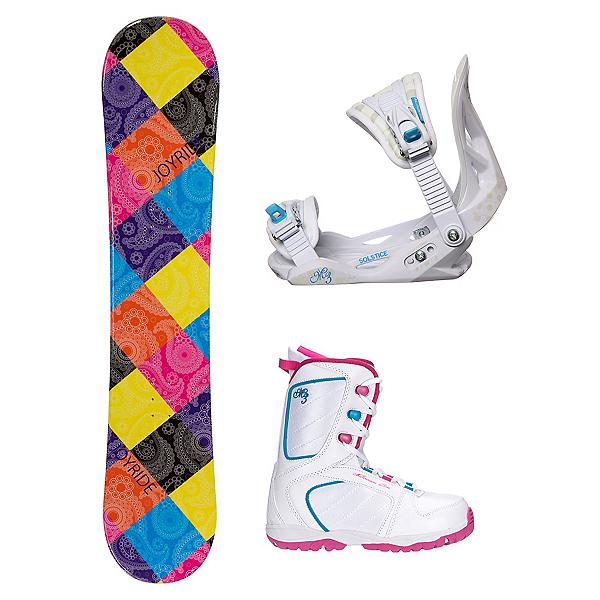 Joyride Paisley Venus XIII Girls Complete Snowboard Package, , 600