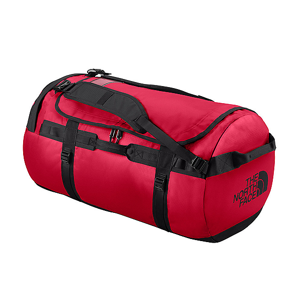 The North Face Base Camp Medium Duffel Bag, TNF Red-TNF Black, 600