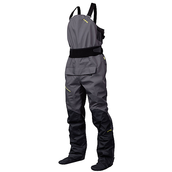 NRS Sidewinder Bib Dry Pants 2017, Gunmetal, 600