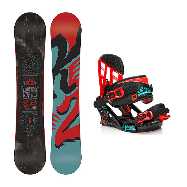 K2 Vandal Wide Vandal Kids Snowboard and Binding Package, , 600