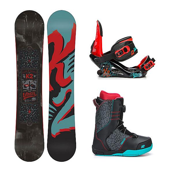 K2 Vandal Vandal Boa Kids Complete Snowboard Package, , 600