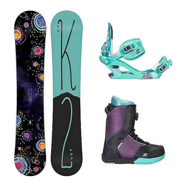 K2 Kandi Kat Boa Girls Complete Snowboard Package, , 600