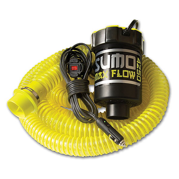 Straight Line Sumo Max Flow Pump 2020, Yellow, 600