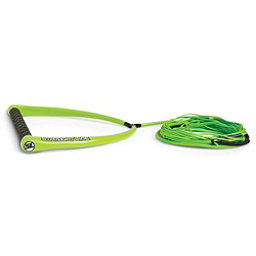 Straight Line Apex Suede with Dyneema Wakeboard Rope 2018, Green, 256