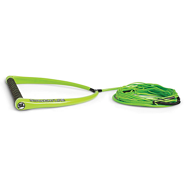 Straight Line Apex Suede with Dyneema Wakeboard Rope 2020, Green, 600