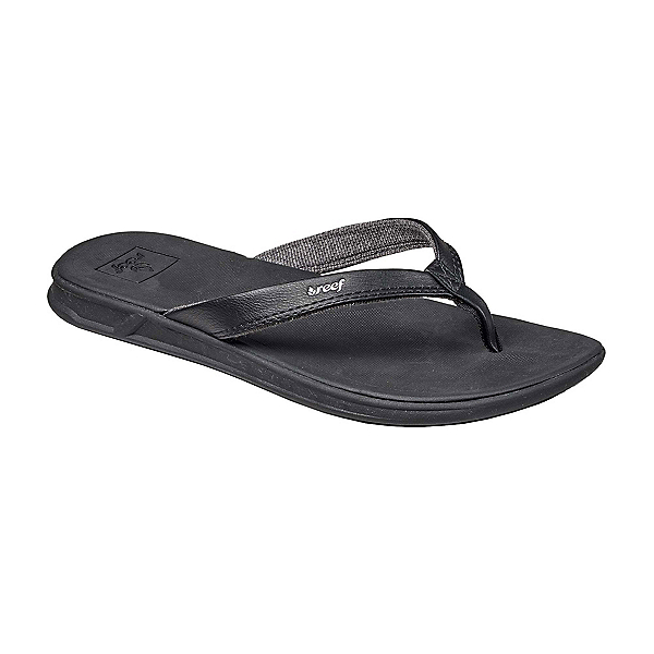Reef Rover Catch Womens Flip Flops, Black, 600