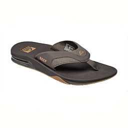 Reef Fanning Mens Flip Flops, Brown-Gum, 256
