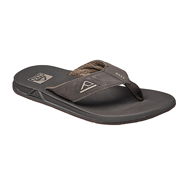 Reef Phantoms Mens Flip Flops, Brown, 600