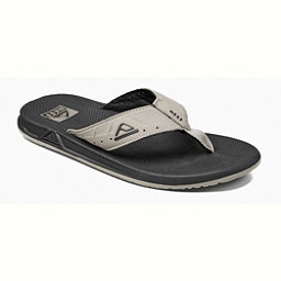 Reef Phantoms Mens Flip Flops, Black-Tan, 256