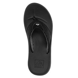 Reef Rover Mens Flip Flops, Black, 256