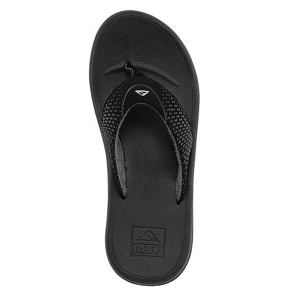 Reef Rover Mens Flip Flops, Black, 600